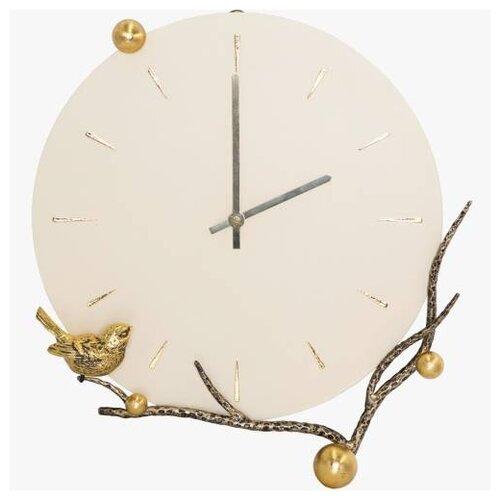 Часы настенные Терра Бранч Амбер Айвори часы настенные bogacho терра бронза
