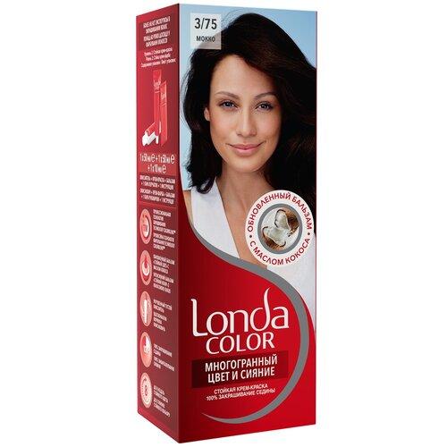 Фото - Londa стойкая крем-краска для волос Многогранный цвет и сияние, 3/75 (32) мокко londa стойкая крем краска для волос многогранный цвет и сияние 6 45 45 гранатово красный