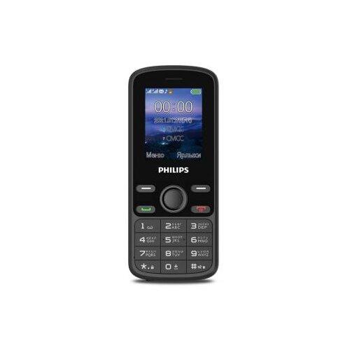 Телефон Philips Xenium E111 черный