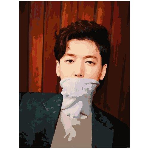 Купить Картина по номерам Чон Кён Хо, 60 х 70 см, Красиво Красим, Картины по номерам и контурам