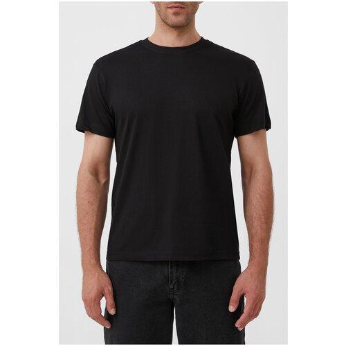 футболка мужская anta цвет черный 85839144 3 размер m 48 Футболка мужская Finn Flare, цвет: черный S21-21042C_200, размер: M(176-96-80)