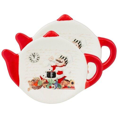 Набор подставок под чайный пакетик Lefard Коллекция