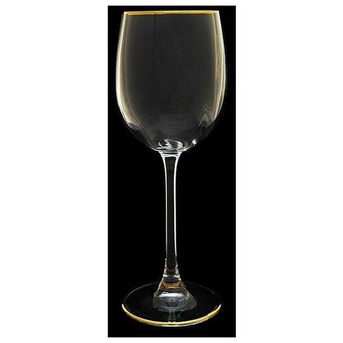 Набор из 6-ти бокалов для вина Эсприт. Золотая отводка Объем: 260 мл набор бокалов rona esprit 260 мл 6 шт