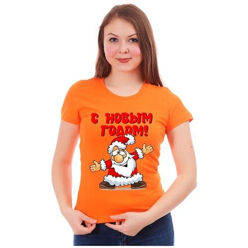 Футболка Drabs, размер L, оранжевый