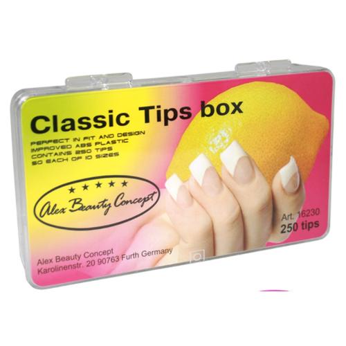 Купить Типсы Alex Beauty Concept CLASSIC TIPS BOX, (500 ШТ)