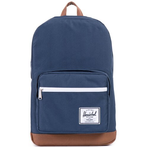 Городской рюкзак Herschel Pop Quiz 22, Navy/Tan Synthetic Leather