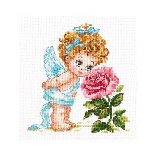 Чудесная Игла набор для вышивания 035-09 Ангел нашего счастья 12 х 14 см чудесная игла набор для вышивания пионы для умелицы 25 х 25 см 100 124