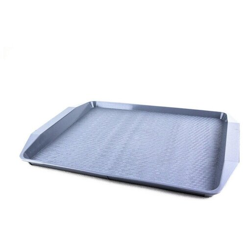 Поднос Компакт серый 427х302х28мм (7601041)