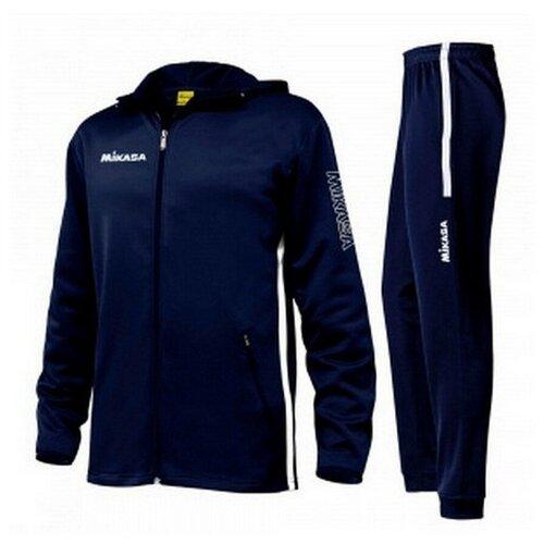 Фото - Спортивный костюм мужской MIKASA MT546 0061 TREING TRENIRKA цвет синий размер L костюм авангард 001160 l синий