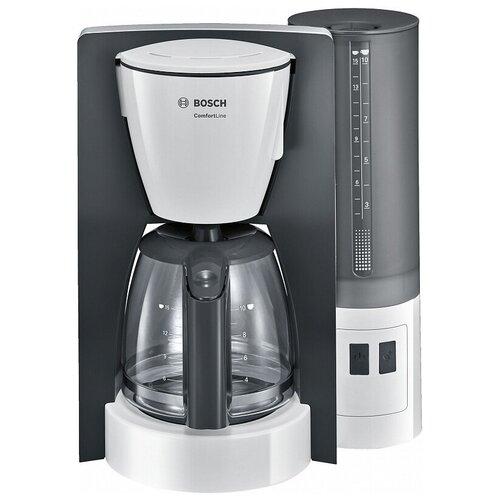 Кофеварка капельная BOSCH TKA6A041 серый/белый