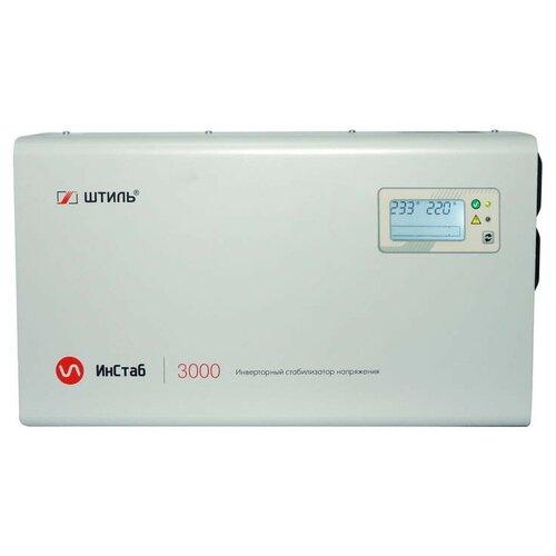 Стабилизатор напряжения Штиль ИнСтаб IS3000 (230В) стабилизаторы напряжения штиль штиль is5000