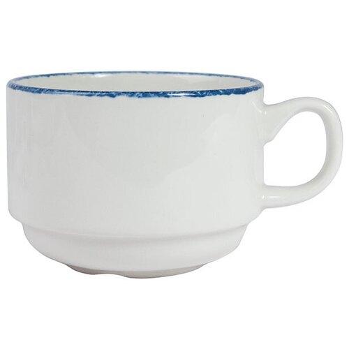 Чашка чайная «Блю дэппл», 0,17 л., 7,8 см., синий, фарфор, 17100230, Steelite
