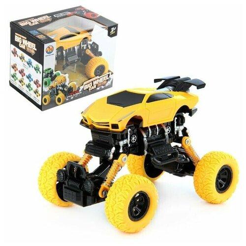 Машина Veld co 84155 инерционная машина veld co 83563 металлическая crawler off road pickup 360 противоударная система инерция свет