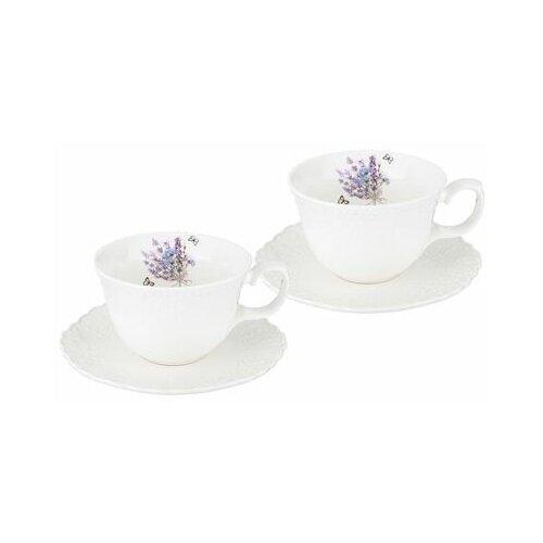 Фото - Чайный набор Lefard Прованс ажур на 2 персоны, 4 предмета, 250 мл (189-230) салатник прованс ажур 13 см lefard 189 234