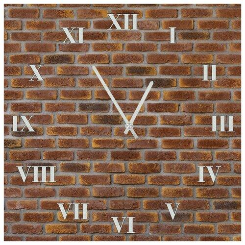 SvS Настенные часы SvS 3002025 Кирпичная стена