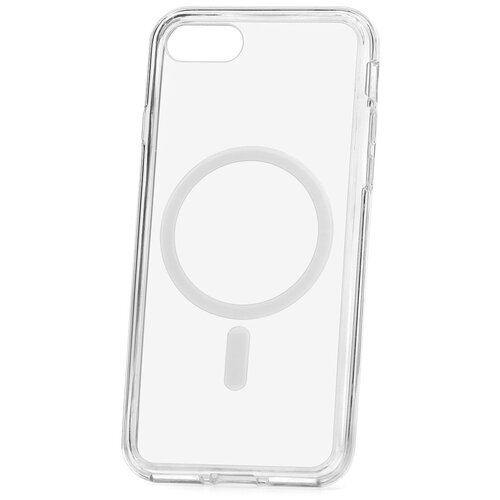 Чехол для Apple iPhone 7 / 8 / SE 2020 Kruche MagSafe Acryl Crystal / противоударный чехол / чехол бампер на айфон / магсэйф / магсейф для айфона / чехол на iPhone / накладка на iPhone / магнитный чехол на iPhone / чехол на руку / чехол на плечо / чехол на шею / чехол через плечо / айфон магсейф / чехол для держателя / чехол magsafe / айфон магсейф / чехол для держателя / чехол magsafe / чехол на айфон 7 / чехол для айфон 8 / чахол для айфон се 2020 чехол