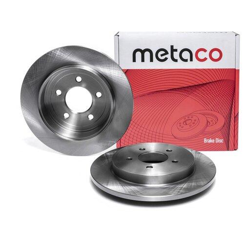 Диск тормозной задний Metaco 3060-199