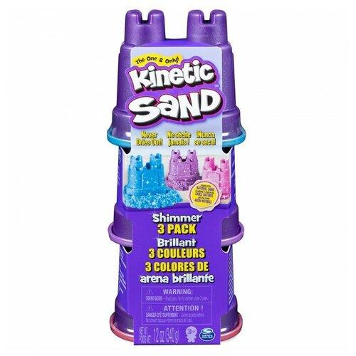 Kinetic Sand Набор для лепки Кинетический песок Мерцание