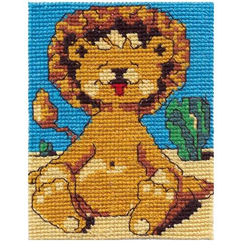 Klart набор для вышивания 011-7 Львенок