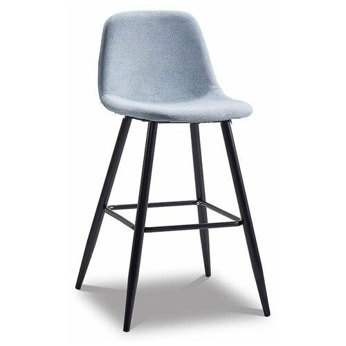 Фото - Стул полубарный Jack (60), голубой/черный стул полубарный peggy 60 матовый коричневый черный