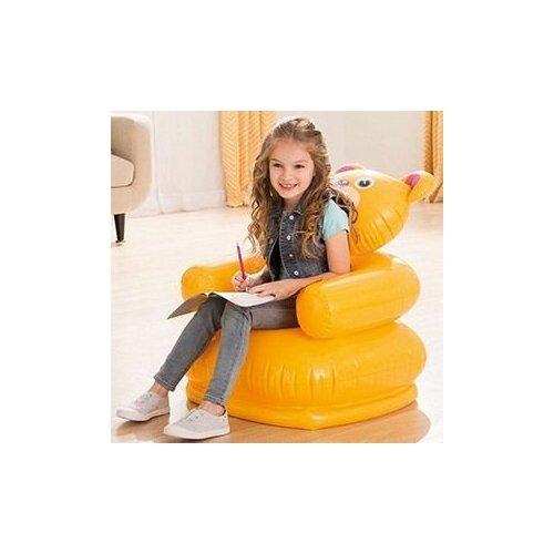 Детское надувное кресло Intex Happy Animal Chair Медвежонок, 65х64х79 см, 3-8 лет, Intex 68556-мед