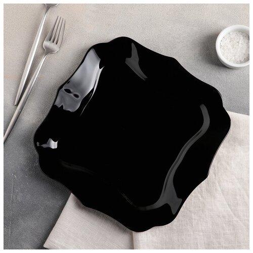 Фото - Тарелка обеденная 26 см AUTHENTIC BLACK 2546728 тарелка обеденная 26 см luminarc arty marine