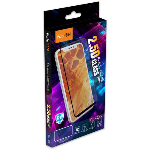 Защитное стекло FaisON для SAMSUNG Galaxy A02s, GL-05, Full Screen, 2.5D, чёрный