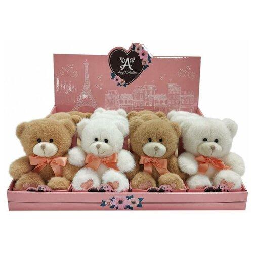 Мягкая игрушка Angel Collection Валентинка-персик, 12 см, 681894