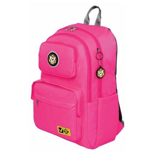 Фото - Рюкзак BRAUBERG LIGHT молодежный, с отделением для ноутбука, нагрудный ремешок, фуксия, 47х31х13 см, 270297 рюкзак brauberg friendly молодежный горчично фиолетовый 37х26х13 см 270093