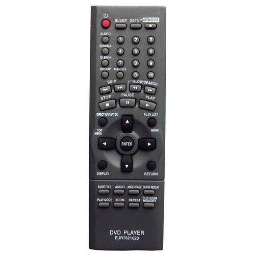 Пульт Huayu для DVD PLAYER Panasonic EUR7621020 (PANASONIC DVD-плеер DVD-S75EE S)