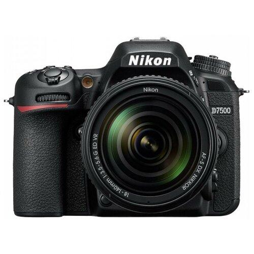 Фото - Зеркальный фотоаппарат Nikon D7500 Kit 18-140 VR цифровой фотоаппарат nikon z fc kit 16 50mm vr