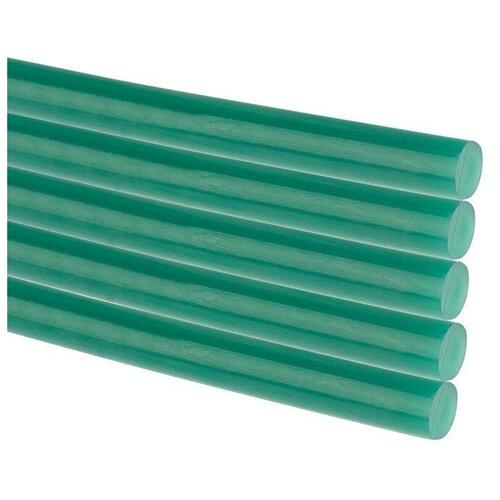 Стержни клеевые REXANT Ø 11 мм, 270 мм, зеленые (10 шт./уп.) (хедер), цена за 1 упак