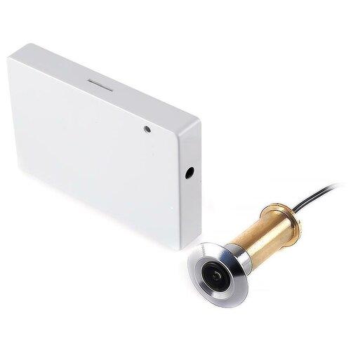 Дверной Wi-Fi видеоглазок - iHome-GLAZ (с записью по движению и удаленным доступом) - видеоглазок в двери, видеоглазок с датчиком в подарочной упаковке