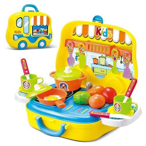 Детский набор повара детский в чемоданчике Xiong Cheng, 008-919A Little Kitchen Chef Set