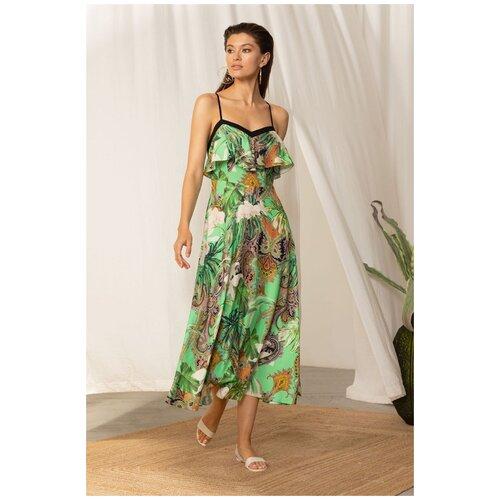 Пляжное платье Laete, размер XL(50), зеленый