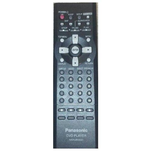 Фото - Пульт N2QAJB000051 DVD для видеотехники PANASONIC пульт ду panasonic eur 7722x20 universal dvd vhs system