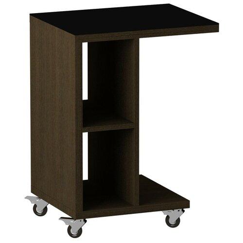 детские столы и стулья leset стол журнальный ls 747 корпус венге Стол журнальный LS 741 02.01 (корпус-венге,стекло-черный)