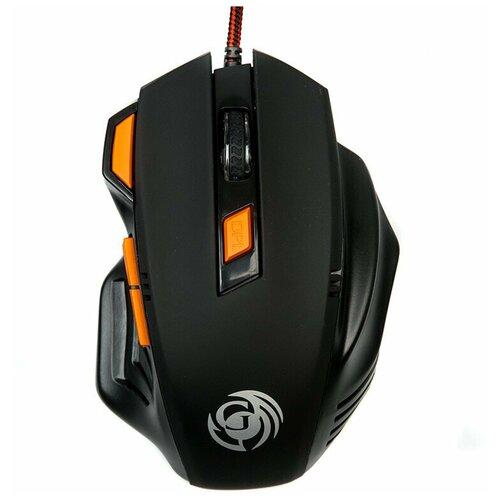 Мышь игровая DIALOG MGK-14U, черная, USB