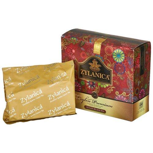 Чай Zylanica Ceylon Premium Collection черн. 100 пакx2гр/уп