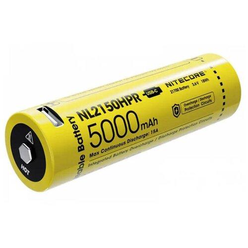 Фото - Аккумулятор Nitecore 21700 Li-Ion 5000mAh NL2150HPR / 1404369 аккумулятор nitecore nl1665r