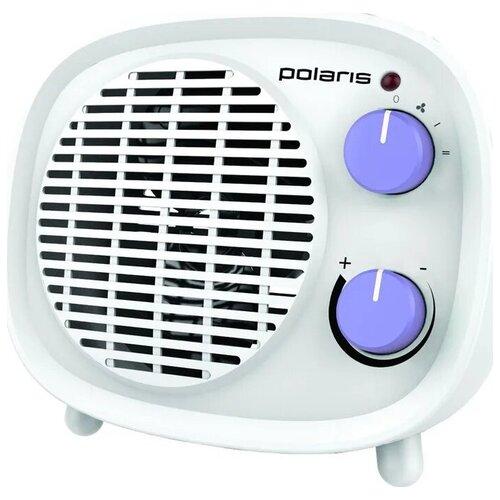 Тепловентилятор Polaris PFH 2062, белый, фиолетовый, 1800 Вт