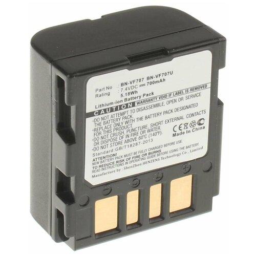 Аккумулятор iBatt iB-B1-F165 700mAh для JVC BN-VF707U, BN-VF714U, BN-VF733, BN-VF707, BN-VF714,