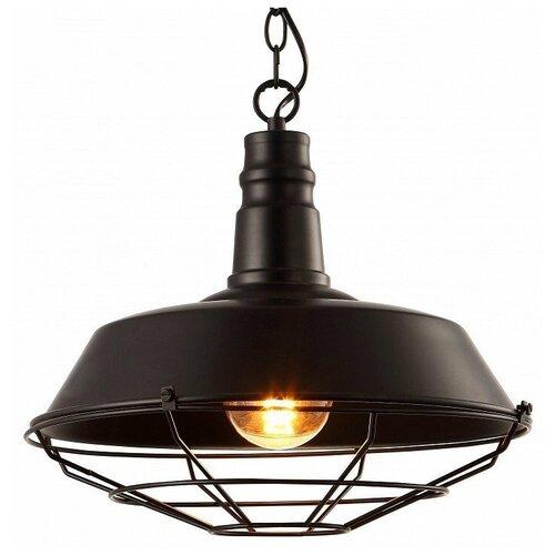 Подвесной светильник Arte Lamp Ferrico A9183SP-1BK потолочный светильник arte lamp ferrico a9183sp 1bk e27 60 вт