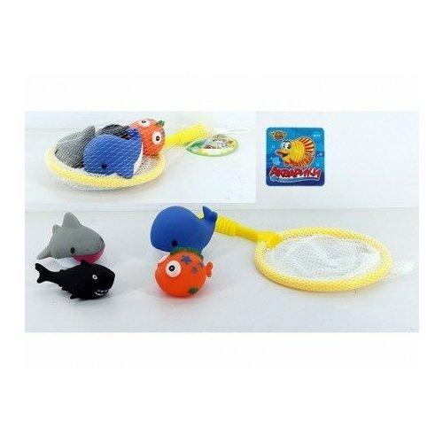 игрушка yako m6051 Игрушка для купания Рыбки, 4 штуки
