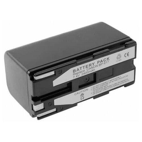 Усиленный аккумулятор для видеокамеры Canon BP-617