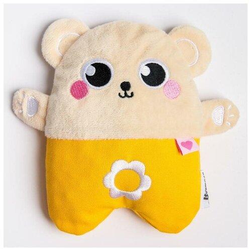 Развивающая игрушка - грелка с вишнёвыми косточками