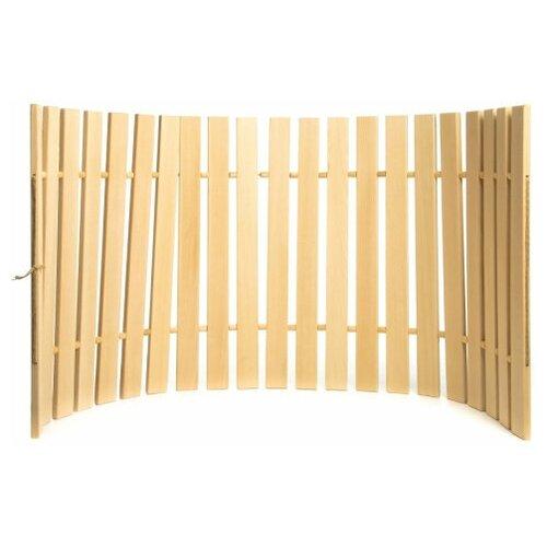 Коврик для бани Доктор Баня, 44х100 см / коврик для бани и сауны / коврик для бани деревянный