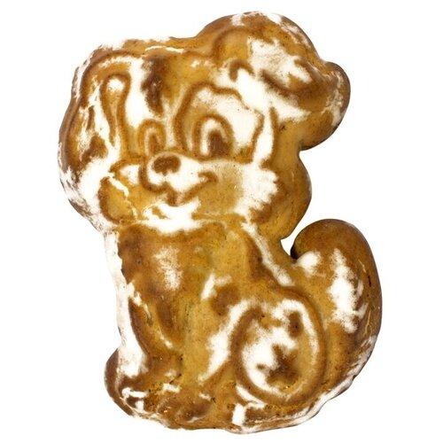 Пряник печатный Пекарня Софи Собака с добавлением ржаной муки. Начинка Малина 2 шт. хлебников владимир хлебопечка домашняя пекарня