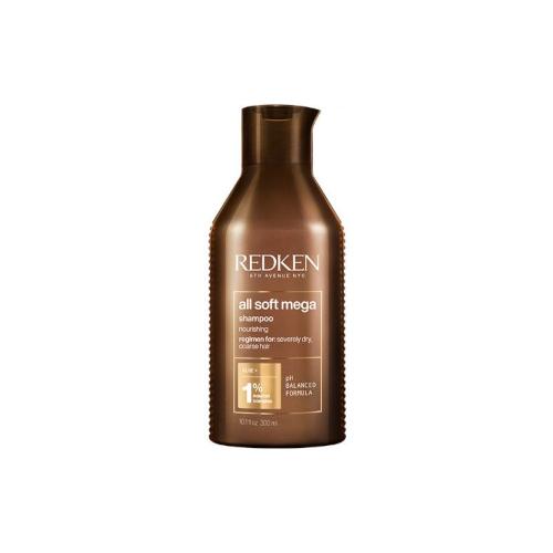 Фото - Redken All Soft Mega Shampoo Шампунь для сухих и ломких волос 300 мл шампунь для волос redken all soft 300 мл