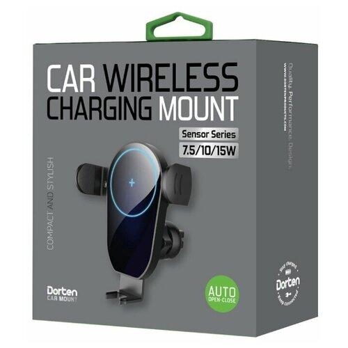 Автомобильное беспроводное зарядное устройство Dorten Car 15W Wireless Charging Mount : Sensor Series